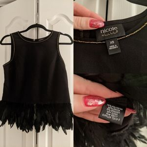 Nicole by Nicole Miller Feather Tank